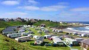 portsoy beach caravan park